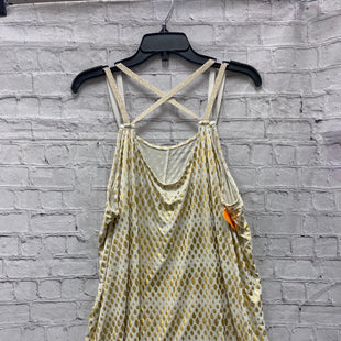 Primary Photo - BRAND: LANE BRYANT STYLE: TOP SLEEVELESS COLOR: GOLD SIZE: 3X SKU: 115-115340-2365