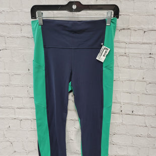 Primary Photo - BRAND: ATHLETA STYLE: ATHLETIC PANTS COLOR: NAVY SIZE: M OTHER INFO: GREEN SKU: 115-115314-12194
