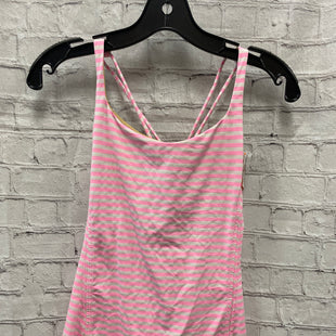 Primary Photo - BRAND: LULULEMON STYLE: ATHLETIC TANK TOP COLOR: WHITE PINK SIZE: 8 SKU: 115-115347-3301