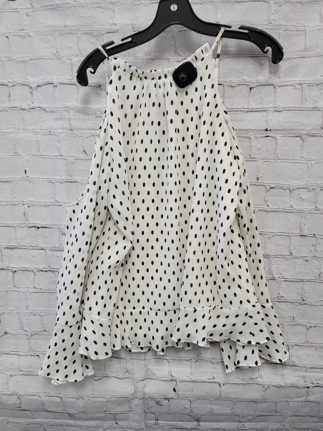 Photo #1 - BRAND:    CLOTHES MENTOR <BR>STYLE: TOP LONG SLEEVE <BR>COLOR: DOTS <BR>SIZE: M <BR>OTHER INFO: PARKER - NWT <BR>SKU: 115-115302-15143