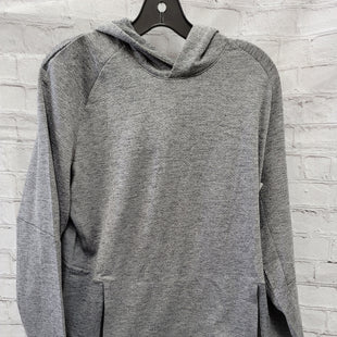 Primary Photo - BRAND: LULULEMON STYLE: SWEATSHIRT HOODIE COLOR: GREY SIZE: M SKU: 115-115347-1368