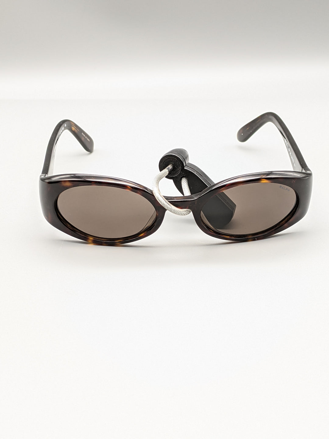 Photo #1 - BRAND: RALPH LAUREN <BR>STYLE: SUNGLASSES <BR>COLOR: BROWN <BR>SKU: 115-115347-2016<BR>MINOR SCRATCHES