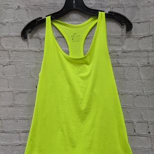Primary Photo - BRAND: NIKE STYLE: ATHLETIC TANK TOP COLOR: NEON SIZE: S SKU: 115-115338-1333