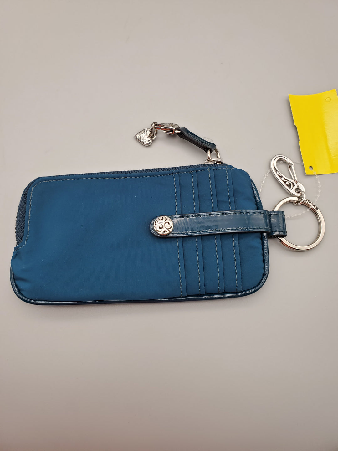 Primary Photo - BRAND: BRIGHTON <BR>STYLE: WALLET <BR>COLOR: TEAL <BR>SIZE: SMALL <BR>SKU: 115-115347-1058