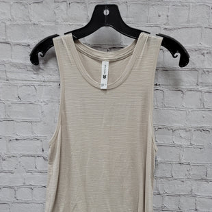 Primary Photo - BRAND:    CLOTHES MENTOR STYLE: ATHLETIC TANK TOP COLOR: BEIGE SIZE: XS OTHER INFO: ALL IN MOTION - SKU: 115-115336-4361