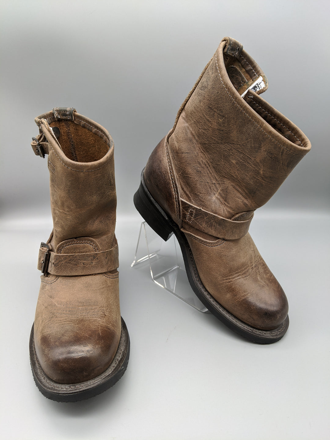 Primary Photo - BRAND: FRYE <BR>STYLE: BOOTS ANKLE <BR>COLOR: BROWN <BR>SIZE: 5.5<BR>OTHER INFO: ** <BR>SKU: 115-115314-7183