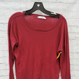 Primary Photo - BRAND: VINCE STYLE: SWEATER LIGHTWEIGHT COLOR: BURGUNDY SIZE: S OTHER INFO: ** - CUT CARE TAG SKU: 115-115347-2991