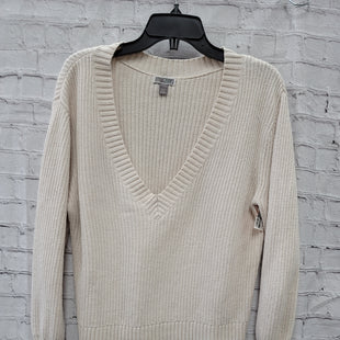 Primary Photo - BRAND:    CLOTHES MENTOR STYLE: SWEATER LIGHTWEIGHT COLOR: CREAM SIZE: L OTHER INFO: CHELSEA28 - SKU: 115-115360-348