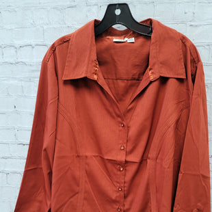 Primary Photo - BRAND: CATO STYLE: TOP LONG SLEEVE COLOR: RUST SIZE: 4X SKU: 115-115347-3636