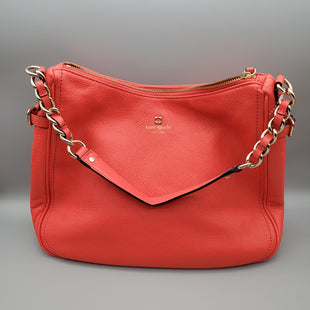 Primary Photo - BRAND: KATE SPADE STYLE: HANDBAG COLOR: MELON SIZE: MEDIUM SKU: 115-115302-15089NEON CORAL PINKEXCELLENT CONDITION
