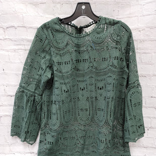 Primary Photo - BRAND:    CLOTHES MENTOR STYLE: DRESS SHORT LONG SLEEVE COLOR: GREEN SIZE: M OTHER INFO: MOLLY BRACKEN - ALL LACE SKU: 115-115314-8909NO INNER LINING!