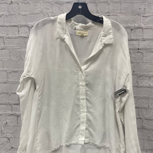 Primary Photo - BRAND: CLOTH AND STONE STYLE: TOP LONG SLEEVE COLOR: WHITE SIZE: S SKU: 115-115309-21534