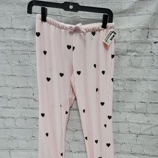 Primary Photo - BRAND:    CLOTHES MENTOR STYLE: PANTS COLOR: LIGHT PINK SIZE: XS OTHER INFO: CHASOR - BLACK HEARTS SKU: 115-115309-20082
