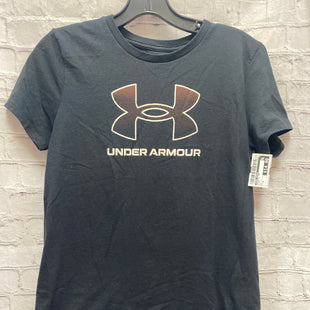 Primary Photo - BRAND: UNDER ARMOUR STYLE: ATHLETIC TOP COLOR: BLACK SIZE: M SKU: 115-115338-3760