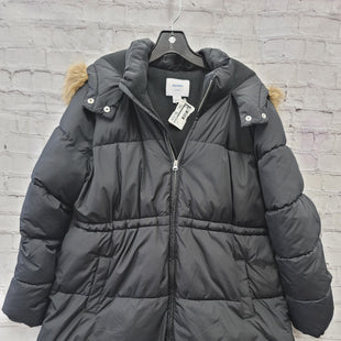 Primary Photo - BRAND: OLD NAVY STYLE: MATERNITY COAT COLOR: BLACK OTHER INFO: LARGE SKU: 115-115340-4529