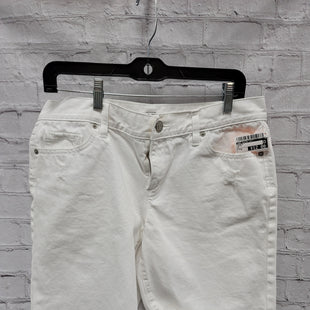 Primary Photo - BRAND: ANN TAYLOR LOFT STYLE: SHORTS COLOR: WHITE SIZE: 8 SKU: 115-115309-20239