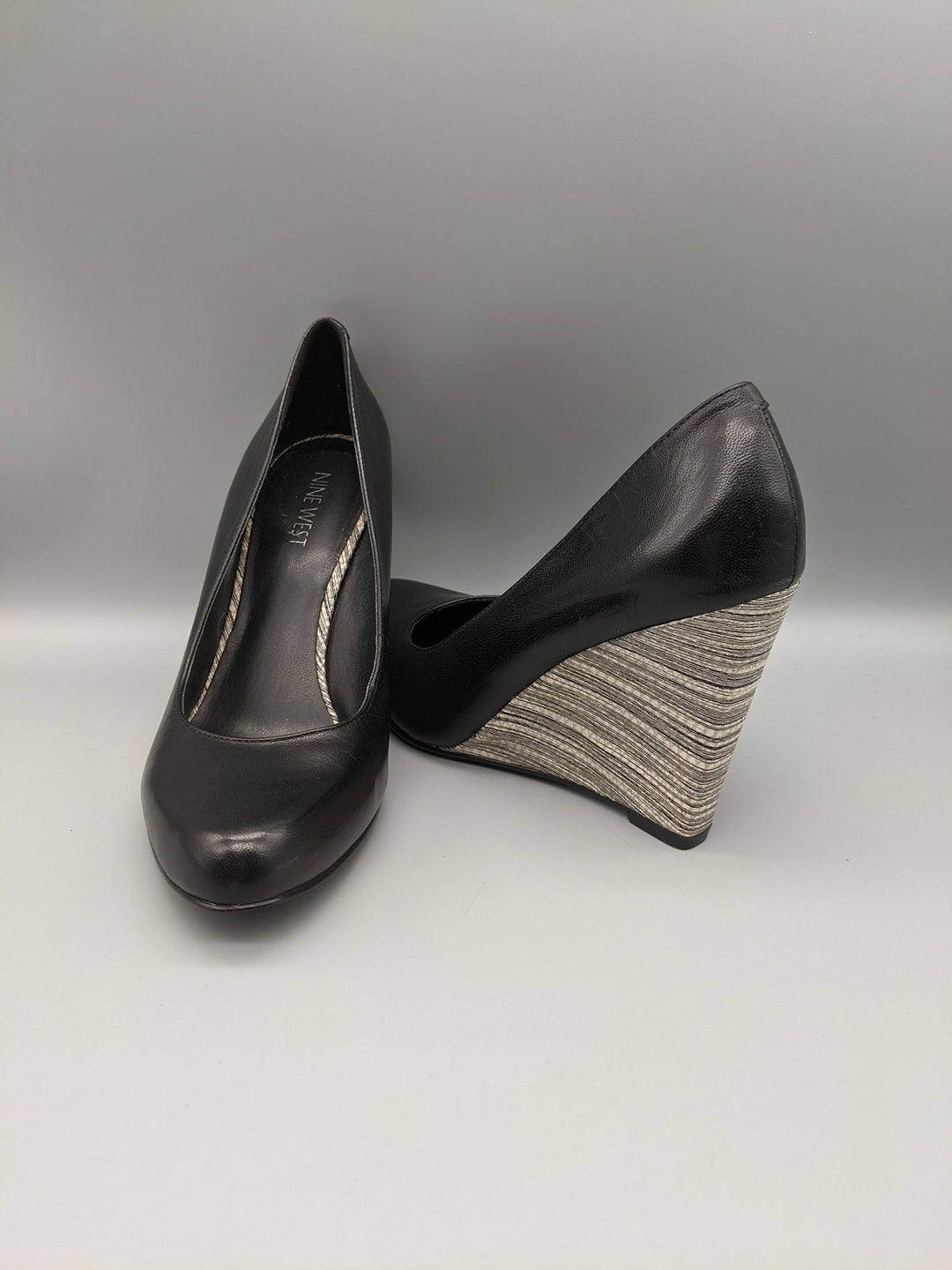 Primary Photo - BRAND: NINE WEST <BR>STYLE: SHOES HIGH HEEL <BR>COLOR: BLACK <BR>SIZE: 7 <BR>OTHER INFO: ** <BR>SKU: 115-115260-91774