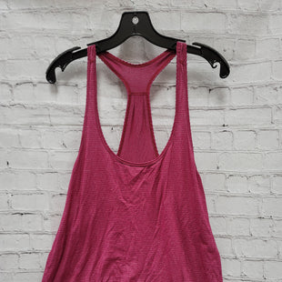 Primary Photo - BRAND: LULULEMON STYLE: ATHLETIC TANK TOP COLOR: RASPBERRY SIZE: L SKU: 115-115302-18531