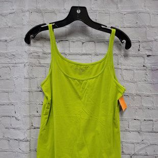 Primary Photo - BRAND: EDDIE BAUER STYLE: TOP SLEEVELESS COLOR: LIME GREEN SIZE: M SKU: 115-115309-20800