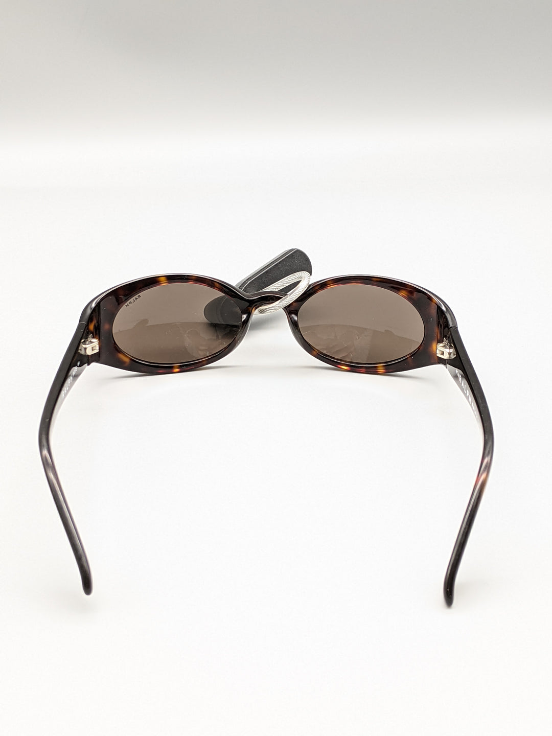 Photo #2 - BRAND: RALPH LAUREN <BR>STYLE: SUNGLASSES <BR>COLOR: BROWN <BR>SKU: 115-115347-2016<BR>MINOR SCRATCHES