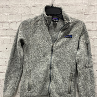 Primary Photo - BRAND: PATAGONIA STYLE: JACKET OUTDOOR COLOR: GREY SIZE: XS OTHER INFO: ** SKU: 115-115314-11573