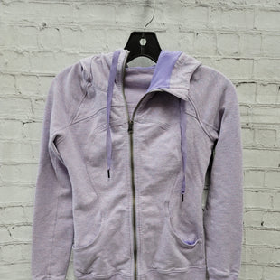 Primary Photo - BRAND: LULULEMON STYLE: ATHLETIC JACKET COLOR: LAVENDER SIZE: 2 SKU: 115-115314-11937