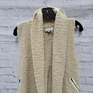 Primary Photo - BRAND: ANN TAYLOR LOFT STYLE: VEST COLOR: CREAM SIZE: XS SKU: 115-115335-3482