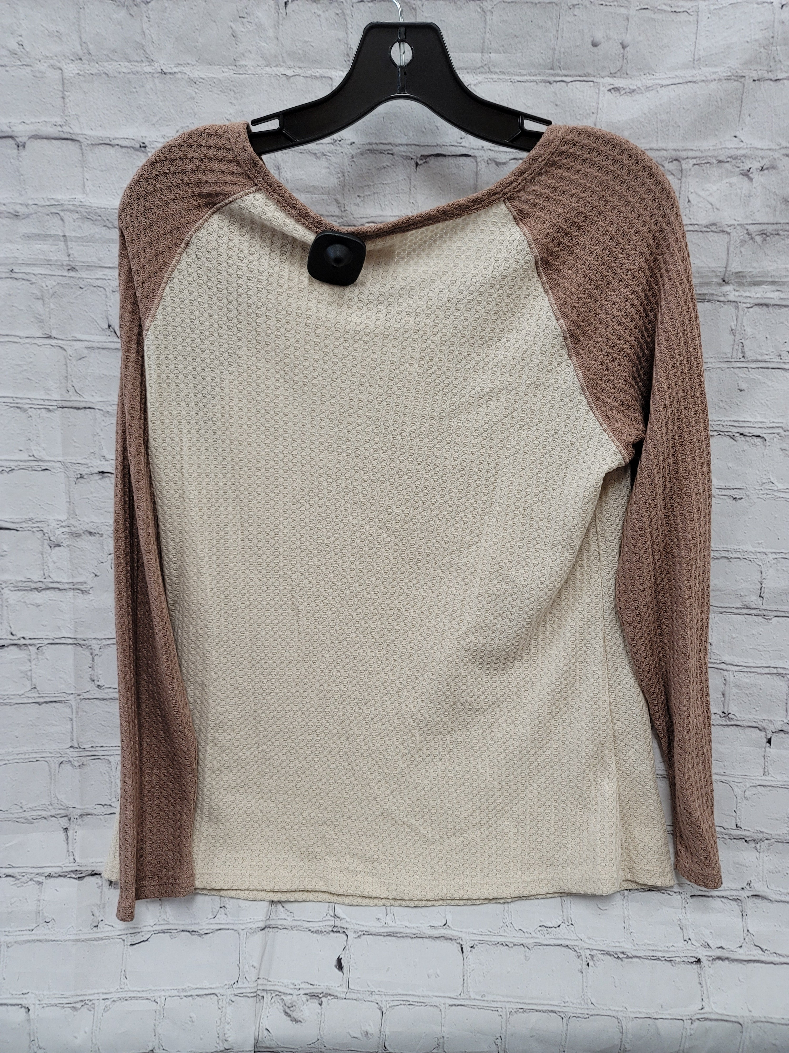 Photo #1 - BRAND: WRANGLER <BR>STYLE: TOP LONG SLEEVE <BR>COLOR: BROWN <BR>SIZE: M <BR>SKU: 115-115338-3836