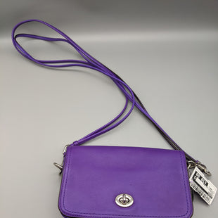 Primary Photo - BRAND: COACH STYLE: HANDBAG COLOR: PURPLE SIZE: SMALL OTHER INFO: CROSSBODY DUST BAG SKU: 115-115314-12093