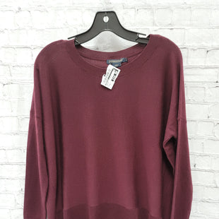 Primary Photo - BRAND: PENDLETON STYLE: SWEATER LIGHTWEIGHT COLOR: BURGUNDY SIZE: XS SKU: 115-115336-4533