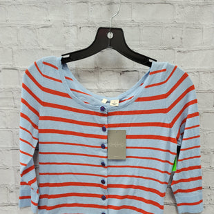 Primary Photo - BRAND: ANTHROPOLOGIE STYLE: SWEATER CARDIGAN LIGHTWEIGHT COLOR: STRIPED SIZE: S OTHER INFO: NWT- BLU & ORNG SKU: 115-115257-30201