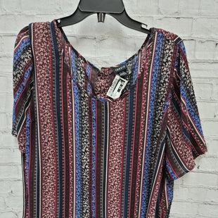Primary Photo - BRAND: TORRID STYLE: TOP LONG SLEEVE COLOR: PURPLE SIZE: 2X OTHER INFO: BLACK/BLUE SKU: 115-115309-21356