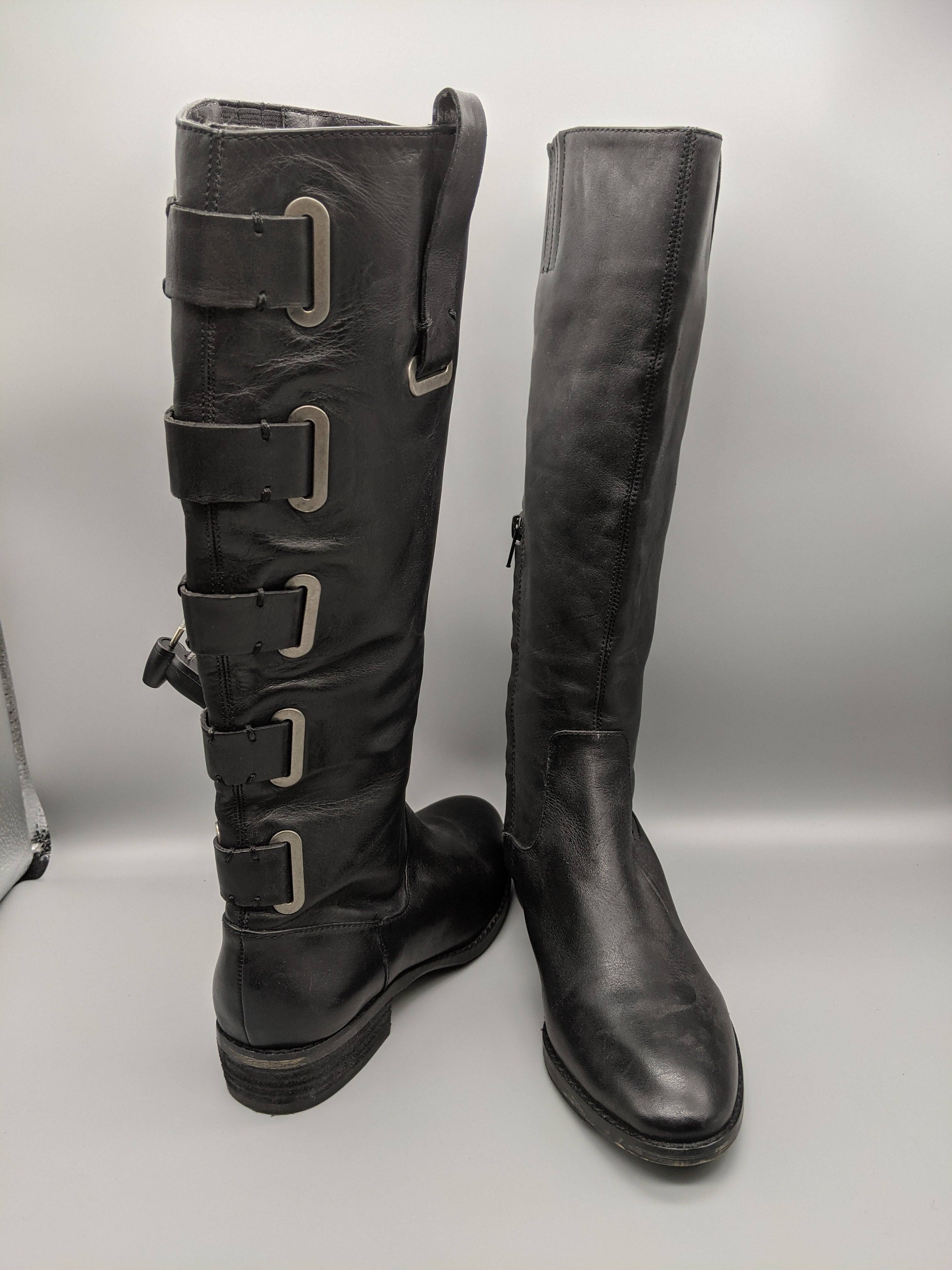 Primary Photo - BRAND: ARTURO CHIANG <BR>STYLE: BOOTS KNEE <BR>COLOR: BLACK <BR>SIZE: 6.5 <BR>SKU: 115-115309-17071