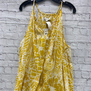 Primary Photo - BRAND: ANN TAYLOR LOFT STYLE: TOP SLEEVELESS COLOR: YELLOW SIZE: XXL OTHER INFO: NWT SKU: 115-115260-92618