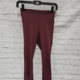 Primary Photo - BRAND: WHITE HOUSE BLACK MARKET STYLE: LEGGINGS COLOR: MAROON SIZE: XXS SKU: 115-115309-20139