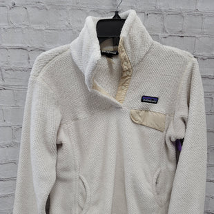 Primary Photo - BRAND: PATAGONIA STYLE: SWEATSHIRT HOODIE COLOR: CREAM SIZE: M SKU: 115-115314-12202