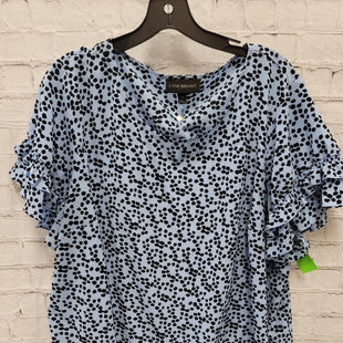 Primary Photo - BRAND: LANE BRYANT STYLE: TOP SHORT SLEEVE COLOR: BLUE SIZE: 3X OTHER INFO: BLACK SPOTS SKU: 115-115309-21373