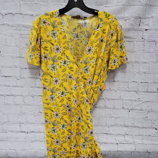 Primary Photo - BRAND: ANN TAYLOR LOFT STYLE: DRESS LONG SHORT SLEEVE COLOR: YELLOW SIZE: 16 SKU: 115-115309-20042