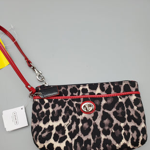 Primary Photo - BRAND: COACH O STYLE: WRISTLET COLOR: LEOPARD PRINT OTHER INFO: NEW! SKU: 115-115347-1055