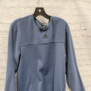 Primary Photo - BRAND: ADIDAS STYLE: SWEATER LIGHTWEIGHT COLOR: PERIWINKLE SIZE: L SKU: 115-115360-691