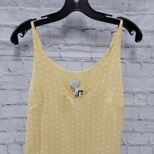 Primary Photo - BRAND: A NEW DAY STYLE: TOP SLEEVELESS BASIC COLOR: YELLOW SIZE: XS SKU: 115-115340-4278