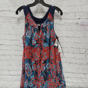 Primary Photo - BRAND: DRESSBARN STYLE: DRESS SHORT SLEEVELESS COLOR: RED BLUE SIZE: 1X SKU: 115-115338-1935