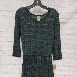 Primary Photo - BRAND: TAYLOR STYLE: DRESS SHORT LONG SLEEVE COLOR: GREEN SIZE: M OTHER INFO: BLACK SKU: 115-115309-14119