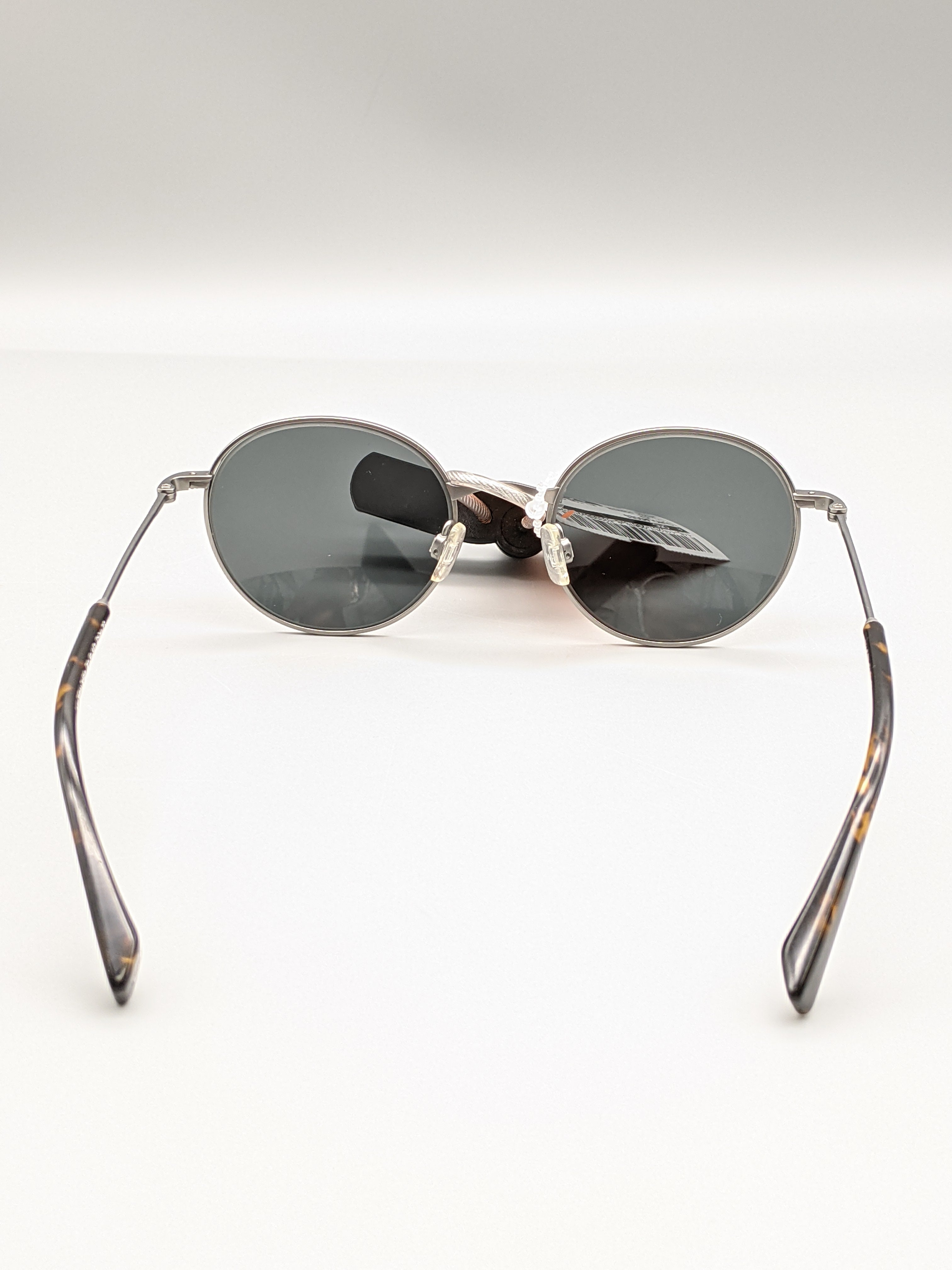 Photo #3 - BRAND:   CMC <BR>STYLE: SUNGLASSES <BR>COLOR: SILVER <BR>OTHER INFO: WARBY PARKER - MILTON STYLE <BR>SKU: 115-115257-29670<BR>SOME VERY SMALL SCRATCHES ON LENSE