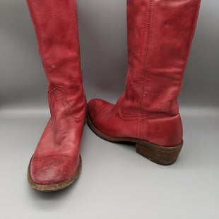 Primary Photo - BRAND: FRYE STYLE: BOOTS KNEE COLOR: RED SIZE: 6.5 SKU: 115-115336-4192SOME WEAR