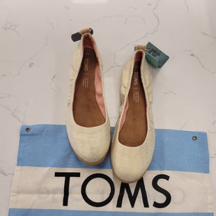 Primary Photo - BRAND: TOMS STYLE: SHOES FLATS COLOR: GOLD SIZE: 7.5 OTHER INFO: NEW! SKU: 115-115347-3319