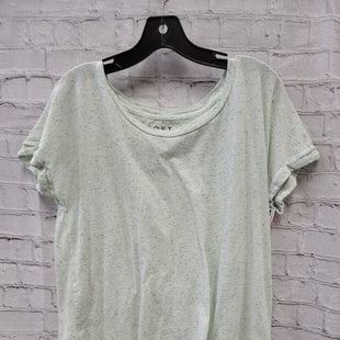 Primary Photo - BRAND: LOFT STYLE: TOP SHORT SLEEVE COLOR: MINT SIZE: L SKU: 115-115314-11041