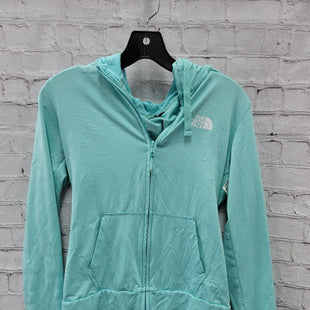 Primary Photo - BRAND: NORTHFACE STYLE: ATHLETIC JACKET COLOR: AQUA SIZE: S OTHER INFO: ** LIGHTWEIGHT SKU: 115-115336-5253