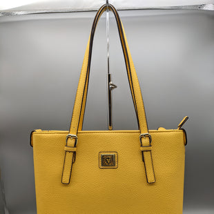 Primary Photo - BRAND: ANNE KLEIN STYLE: HANDBAG COLOR: YELLOW SIZE: MEDIUM OTHER INFO: ** SKU: 115-115260-94246