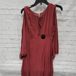 Primary Photo - BRAND: FREE PEOPLE STYLE: DRESS LONG LONG SLEEVE COLOR: MAROON SIZE: S SKU: 115-115314-11919